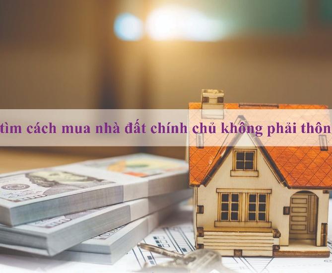 Hướng dẫn cách tìm mua nhà đất chính chủ không qua trung gian